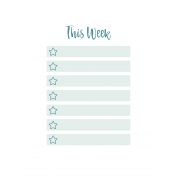 The Good Life June Pocket Card 02 Week 3x4