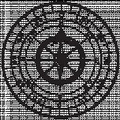 Compass Stamp 1