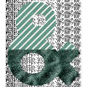 The Good Life- June Elements- Glitter Ampersand Green