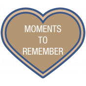 Remembrance Mini Kit - Moments To Remember - Heart