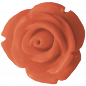The Good Life July Elements- Flower 4 Coral