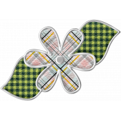 The Good Life July Elements- Flower 6 Plaid