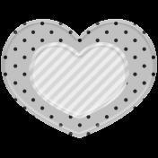 Templates Grab Bag Kit #19- Fancy Heart 2