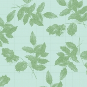 The Good Life-October- Papers- Paper Leaves Pattern Realistic