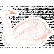 The Good Life- November Elements- Sticker Swan