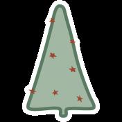 The Good Life- December Elements- Sticker Tree 6