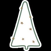The Good Life- December Elements- Sticker Tree 4