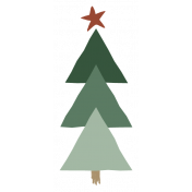 The Good Life- December Elements- Sticker Tree 3