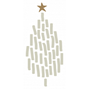 The Good Life- December Elements- Sticker Tree 2