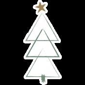 The Good Life- December Elements- Sticker Tree 1