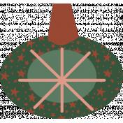 The Good Life- December Elements- Sticker Ornament 7