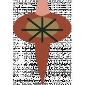 The Good Life- December Elements- Sticker Ornament 6