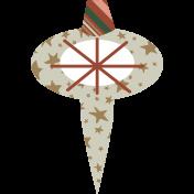 The Good Life- December Elements- Sticker Ornament 5