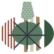 The Good Life- December Elements- Sticker Ornament 1