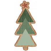 The Good Life- December Elements- Wood Tree 2