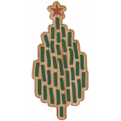 The Good Life- December Elements- Wood Tree 1