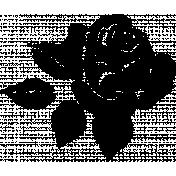 SciFi Stamps- Flower 2 Stamp