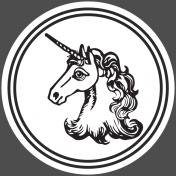 The Good Life: January 2019 Elements Kit- Circle Unicorn