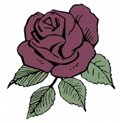 SciFi Elements- Sticker Rose 2