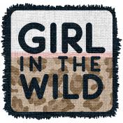 wild child word art tag: girl