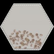 Shaker Pockets Kit- Beads- Hexagon Filled