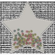 Shaker Pockets Kit- Beads- Star Filled