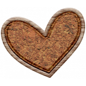 The Good Life: February Elements- Wooden Heart 4
