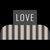 About Last Night Mini Kit- Love Tag