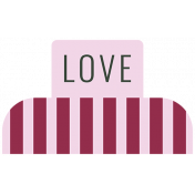 The Good Life: February words and tags- love