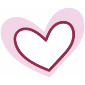 The Good Life: February words and tags- heart 1