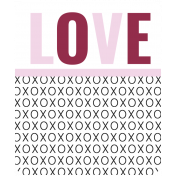 The Good Life: February Words And Tags- Word Art Tag love 1