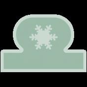 Birds In Snow Elements Kit #2: print tab 1