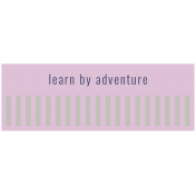At The Wadi Words & Tags Kit: tag learn by adventure