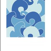 The Good Life: March 2019 Beach Pocket Cards Kit: ocean 2 3x4