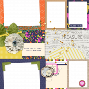 Buried Treasure Quick Pages Kit- Page 02