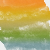 Umbrella Weather - Papers - Paper-Paint Stains-Varigated Colors