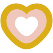 The Good Life- March 2019 Elements- Sticker Heart 3