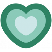 The Good Life- March 2019 Elements- Sticker Heart 1