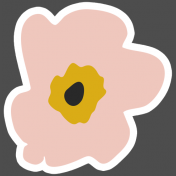 The Good Life- March 2019 Elements- Sticker Flower 6