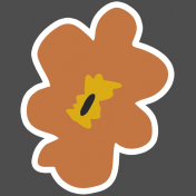 The Good Life- March 2019 Elements- Sticker Flower 5