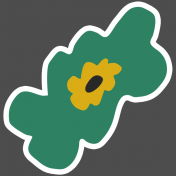 The Good Life- March 2019 Elements- Sticker Flower 3