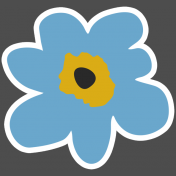 The Good Life- March 2019 Elements- Sticker Flower 2