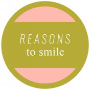 Spring Day Words & Tags- Reasons To Smile