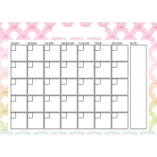 The Good Life: April Calendars- Calendar 2 5x7