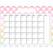 The Good Life: April Calendars- Calendar 2 8.5x11
