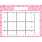 The Good Life: April Calendars- Calendar 3 8.5x11