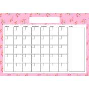 The Good Life: April Calendars- Calendar 3 A4