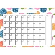 The Good Life: April Calendars- Calendar 1 5x7
