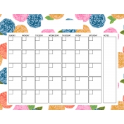 The Good Life: April Calendars- Calendar 1 8.5x11