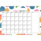 The Good Life: April Calendars- Calendar 1 A4